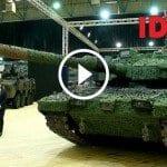 Altay Tankı İDEF 2017'de Ziyaretçilerin İlgi Odağı Oldu