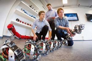 Yılan Robotların Prototipleri