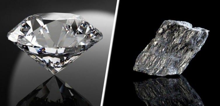 Diamond-Graphite