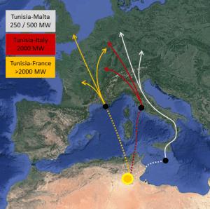 Sahra Çölünde üretilecek elektriğin Avrupa'ya taşınma planı